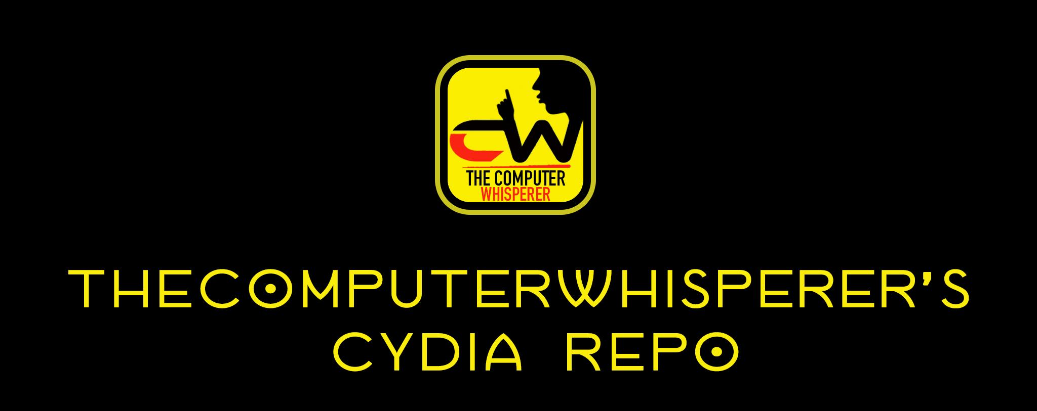 TheComputerWhisperer's Cydia Repo - banner image.